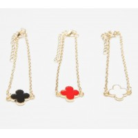 Bracelet - Lucky Clover Shaped, Classic
