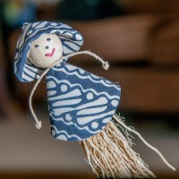 Mini Strawman - Ornament