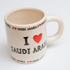 Mug - I love Saudi Arabia