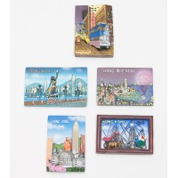 HongKong 3D Fridge Magnet