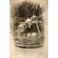 Postcard - Sculpture in Spine