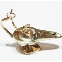 Mini Brass Aladdin's lamp