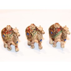 Brownish-yellow Camel Sculpture