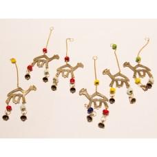 Brass camel pendant