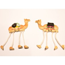 Long-legged Camel magnet with white feet-for fridge