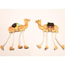 Long-legged Camel magnet with white feet-for fridge
