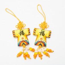 Fortune Shirt Shape Sachet - Chinese Style